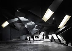 The Wushang Zhongyan Mall International Cinema in Wuhan, China, was a winner in the 2015 SEGD Global Design Awards (Placemaking and Identity). Wuhan, Cinema Architecture, World Festival, Interior Design Awards, Interior Sketch, Design Interiors, Interior Decorating, Global Design, Stage Design