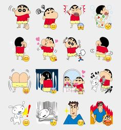 Shinchan   Telegram Stickers