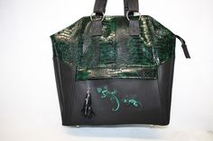 Ledertaschen - Tasche Lexa Unikat - ein Designerstück von Ursels-Lieblingsmode bei DaWanda
