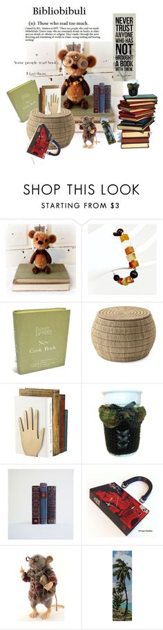 """""""Bibliobibuli"""" by tol-n-tique on Polyvore featuring interior, interiors, interior design, home, home decor, interior decorating, Better Homes and Gardens, Serena & Lily and Kate Spade"""
