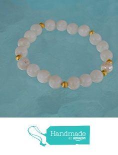 Natural Freshwater Pearl with 8 mm White Jade beads bracelet . Energized buddhist meditation chakra mala beads - Free mala pouch included-USA Seller from AwakenYourKundalini https://www.amazon.com/dp/B01HFSP7ES/ref=hnd_sw_r_pi_dp_Y99hyb0WDTH5H #handmadeatamazon