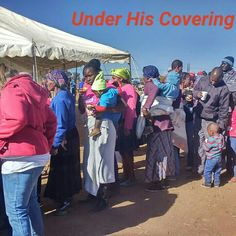 Under his Covering. Soup and bread outreach