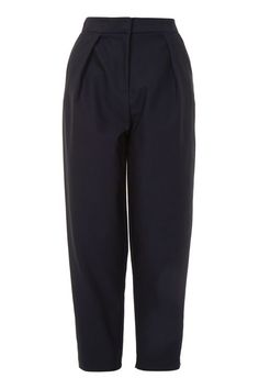Poplin Waist Peg Trousers