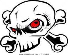 stock-vector-skull-77336413.jpg (450×372)
