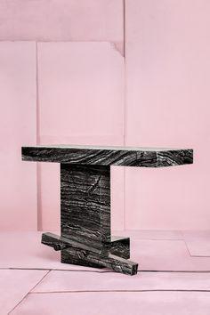 Tessa  Koot - The Italian, the Turkish and the Dutch, black marble table - Photography:  Ronald Smits ©  2014