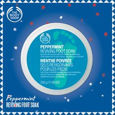 Peppermint Reviving Foot Soak