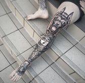 Leg Tattoo  Machen Sie es sich auf 50 Fotos schön Diy Outfits, Diy Design, Diy Party Food, Tattoo Designs, Background Diy, Diy Wallpaper, Diy Pumpkin, Diy Tattoo, Diy Cake