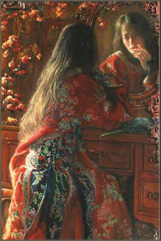 Mirror mirror on the wall, Zhang Hongnian (张红年) : Born in 1947 in Nanjing, China. Currently working in US.