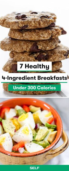 These healthy breakfasts are super easy and ready in 15 minutes or less! They're suitable for vegan, vegetarian, or gluten-free diets and will keep you full until lunch time! Whether you have eggs, granola, or oats on hand, you can have a delicious, low-calorie meal to take on-the-go.