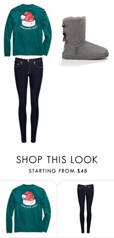 """""""Untitled #143"""" by chantelb233 on Polyvore featuring rag & bone/JEAN and UGG Australia"""