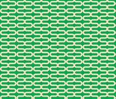Super cute preppy print to use as upholstery fabric, or cheery curtains | kunda_kelly_linen fabric by holli_zollinger on Spoonflower - custom fabric