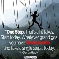 Tell me what your one step will be today. Today I commit to completing the initial stage of one of my projects - a Troy Media project. What is your one small step towards success today? Goal Quotes, Me Quotes, Motivational Quotes, Inspirational Quotes, Business Inspiration, Writing Inspiration, Motivation Inspiration, My Motto, Life Motto