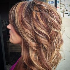 Dramatic multi color hair highlighting by mary b crystal lake multi colored highlights pmusecretfo Gallery