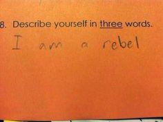 Kids say the darndest things. Well, the homework answers they write can be pretty darn funny too. Sometimes all you can do is shake your head.