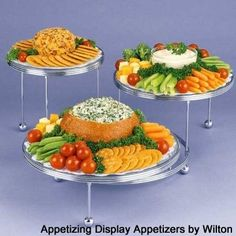 Ross and Nickys Wedding: reception food recipes
