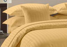 Parure de couette drap king size taupe solide 800 TC 100/% coton égyptien