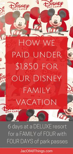 Wondering how to save money on your vacation to Disney World? Learn how you can get the best deal for Disney and save big! Plan your next Walt Disney World trip on a budget & save hundreds (or… Disney Worlds, Disney World Cheap, World Disney, Disney World Tipps, Disney On A Budget, Disney Vacation Planning, Disney World Planning, Walt Disney World Vacations, Disneyland Trip