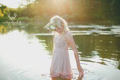 #flowercrown photo by Ashley Elizabeth Photography