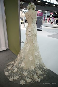 Ethereal wedding dress -Claire Pettibone www.theweddingcentral.com