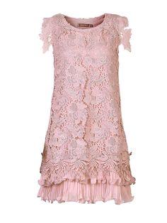 Buy Purple Jolie Moi Crochet Lace Overlay Dress from our Women's Dresses range at John Lewis & Partners. Pink A Line Dress, Blue Chiffon Dresses, Purple Mini Dresses, Pastel Dresses, Blue Gown, A Line Cocktail Dress, Crochet Lace Dress, Lace Overlay Dress, Tiered Dress