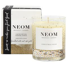 Buy Neom Christmas Wish Standard Candle Online at johnlewis.com