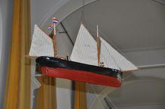 Ship model Reformed church Marken