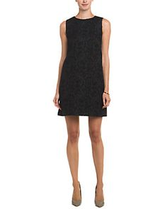 RED Valentino Black Boucle Dress