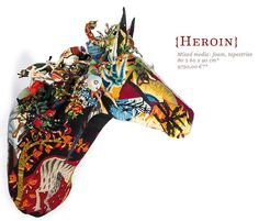PRESENT: Decorative patchwork horse head from Frederique Morrel. (Morrel, 2012)