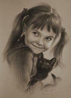 30 Awesome Pencil Portrait Sketches by Krzysztof Lukasiewicz ~ Cool Stuff Directory Portrait Au Crayon, Pencil Portrait, Portrait Art, Graphite Art, Graphite Drawings, Pencil Drawings, Amazing Drawings, Amazing Art, Cool Drawings