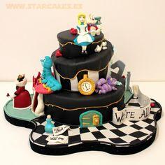 tarta Alicia en el País de las Maravillas - Alice in Wonderland cake Tartas Personalizadas en Madrid Síguenos en facebook: http://on.fb.me/MEghZr
