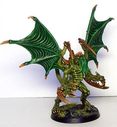 Tyranid Cthulhu… - Hellric's Nightmare miniatures - the leader of Hive Fleet R'lyeh?