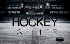To add to my iPhone 4 & 5 wallpapers, heres the desktop version of the design. Hockey Is Life and the season is so close.