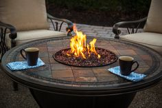 Happy National Coffee Day! What a perfect day to cozy up by the fire pit with your favorite mug in hand :)