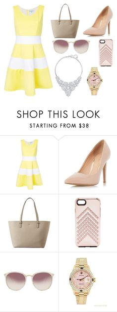"""""""Easter Sunday"""" by em-34 ❤ liked on Polyvore featuring Guild Prime, Dorothy Perkins, Kate Spade, Rebecca Minkoff, Linda Farrow, Rolex and Swarovski"""