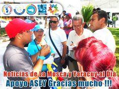 Asociación de Sordos del Estado Yaracuy: Noticias de La Mosca y Yaracuy al Dia Apoyo Asocia...