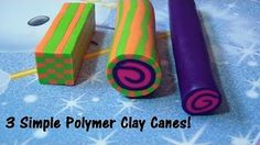 Basic Flower Cane for Beginners - Polymer Clay - YouTube
