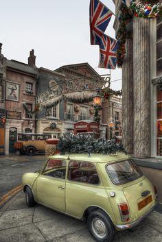 English Christmas Town