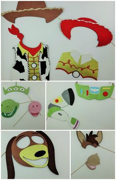 Toy Story inspired Photo Booth Party Props by weddingphotobooth