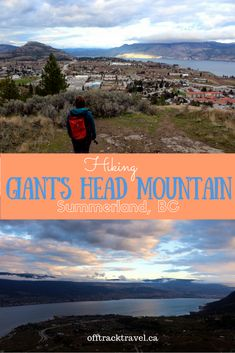 Giant's Head Mountain, Summerland, is one of our favourite quick hikes return) in southern BC, Canada. It's a workout with an awesome payoff! Columbia Outdoor, Outdoor Fitness, Canadian Travel, True North, Outdoor Workouts, Extinct, Outdoor Adventures, Volcano, Boating