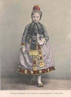 Prinzessin Elisabeth in hessischer Tracht , Princess Elisabeth of Hesse | Flickr - Photo Sharing!