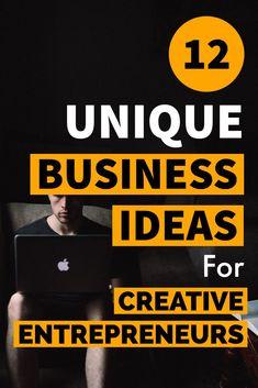 12 Unique Business Ideas To Make Hefty Cash – Lifez Eazy - business ideas entrepreneur Business Innovation, Business Entrepreneur, Business Marketing, Entrepreneur Ideas, Unique Business Ideas, Creative Business, Writing A Business Plan, Business Planning, Business Tips