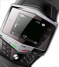 Quad-Band Super Slim TFT Touch Screen Watch Phone