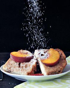 Peaches and Cream French Toast @spabettie