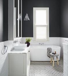 Peinture salle de bain – 77 photos qui vont vous faire craquer