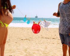 Beach Gender Reveal