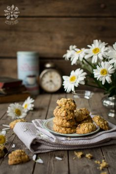 Breakfast photography food photo rustic Ideas for 2019 Oat Peanut Butter Cookies, Peanut Butter Oatmeal, Oatmeal Cookies, Almond Butter, Breakfast Photography, Food Photography, Easy Cookie Recipes, Snack Recipes, Sweets