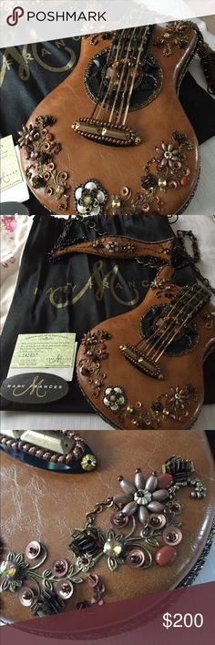 Mary Frances guitar purse Beautiful embellished guitar purse Mary Frances Bags Crossbody Bags
