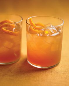 For this drink, we like to use Laird's Applejack, an American apple brandy.