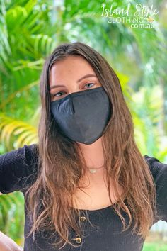 Stay Covered & Safe in Face Masks. This contoured mask provides nose-to-chin coverage and is washable for reusable convenience. They feature adjustable ear straps, pinch-able nose wire and a filter pocket.⁠ These are non-medical and intended as a face covering in settings when social distancing is difficult to maintain. QLD, Australia #facemask #mask #cottonfacemask #reusablefacemask #adultmask #adultfacemask #reusablefacemasks #cottonmasks #plainfacemasks #blackfacemask #plainmask #blackmask