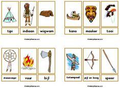 Indianen downloads » Juf Sanne